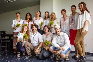 We are celebrating Sânziene and the Romanian blouse: ia
