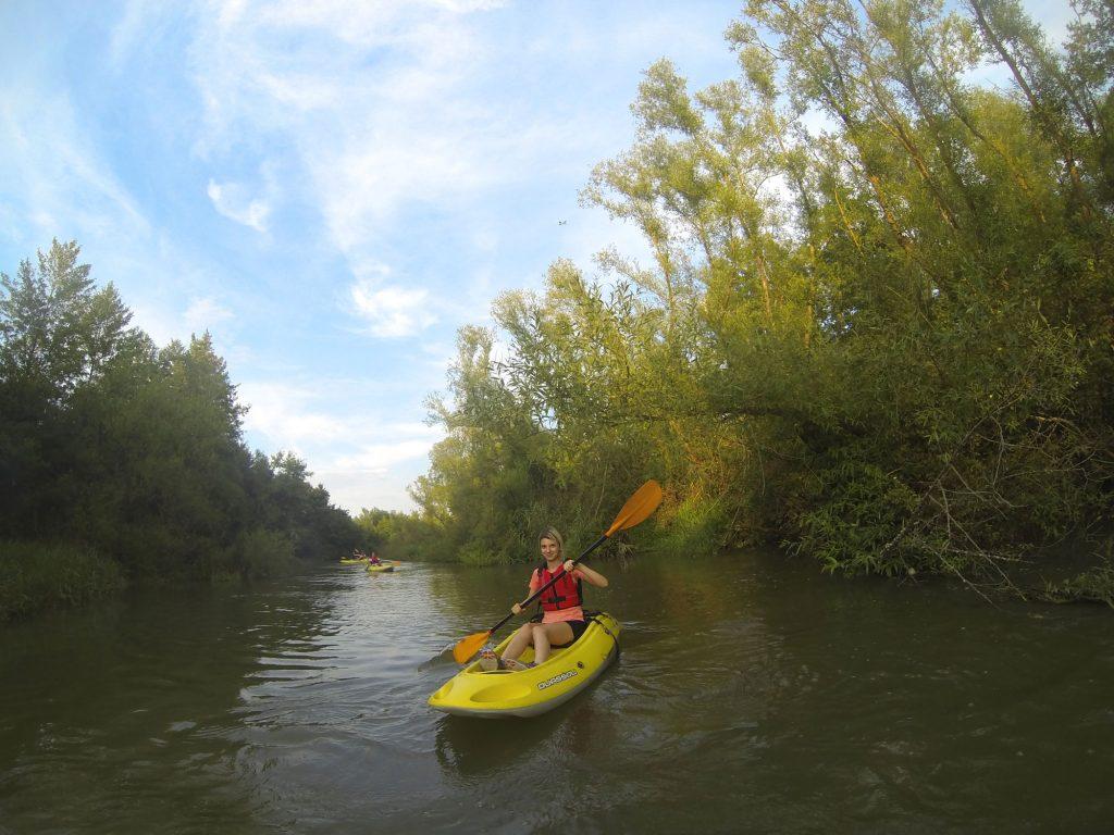 Infobest Team Kayaking