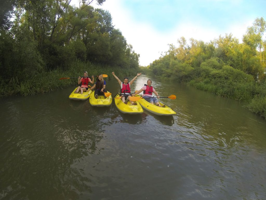 Infobest Team Kayaking