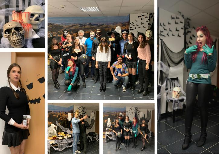 Infobest Halloween Team