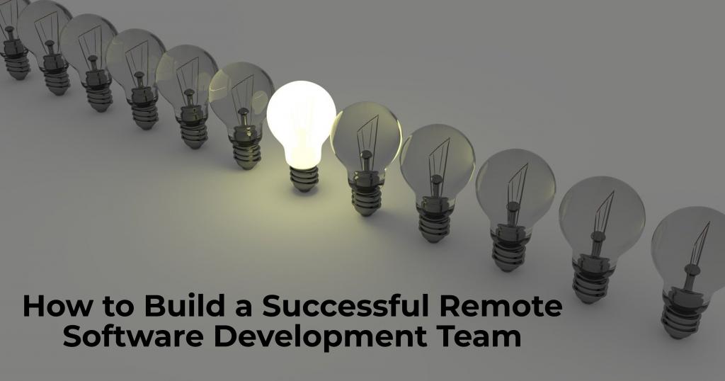remote software development team
